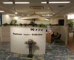 アプリリゾート 東京本社 入り口